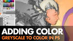 Digital Painting Video - Greyscale to Color