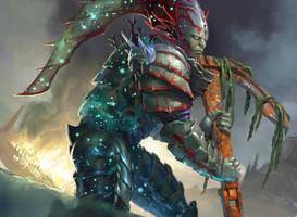 Nyxborn Triton - MTG by ClintCearley
