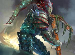 Nyxborn Triton - MTG