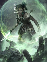 Reclamation Sage - MTG by ClintCearley