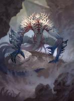 Dust Stalker - MTG by ClintCearley