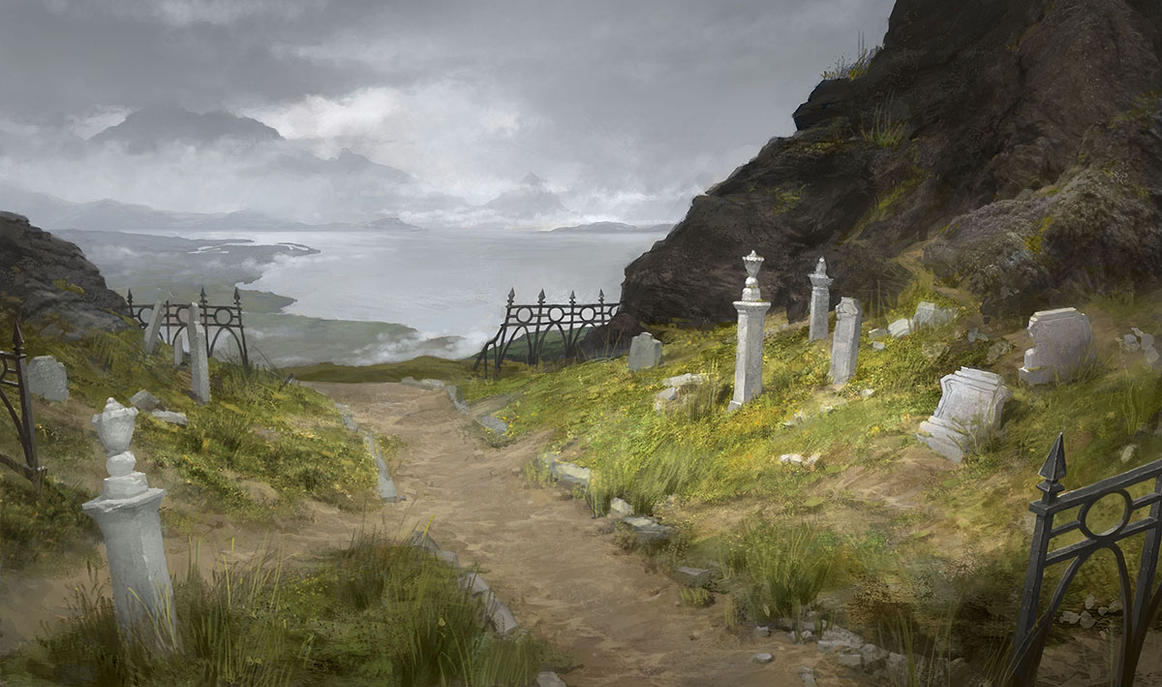 Cemetary Path by ClintCearley