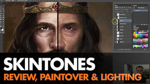 Skintone Paintover - video