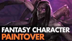 Fantasy Character Paintover - video