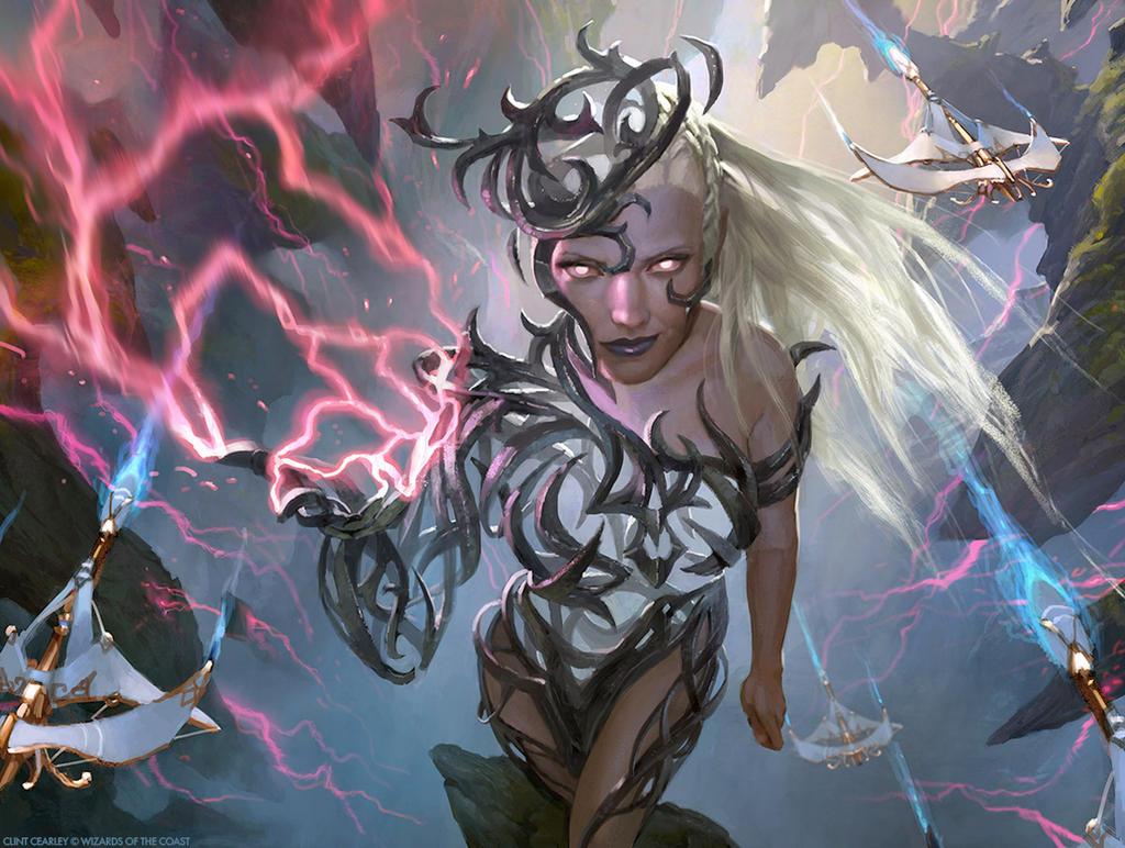 Breya, Etherium Shaper - MTG by ClintCearley on DeviantArt