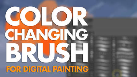 Color Changing Brush - video