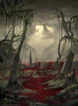 Swamp Devastated - MTG