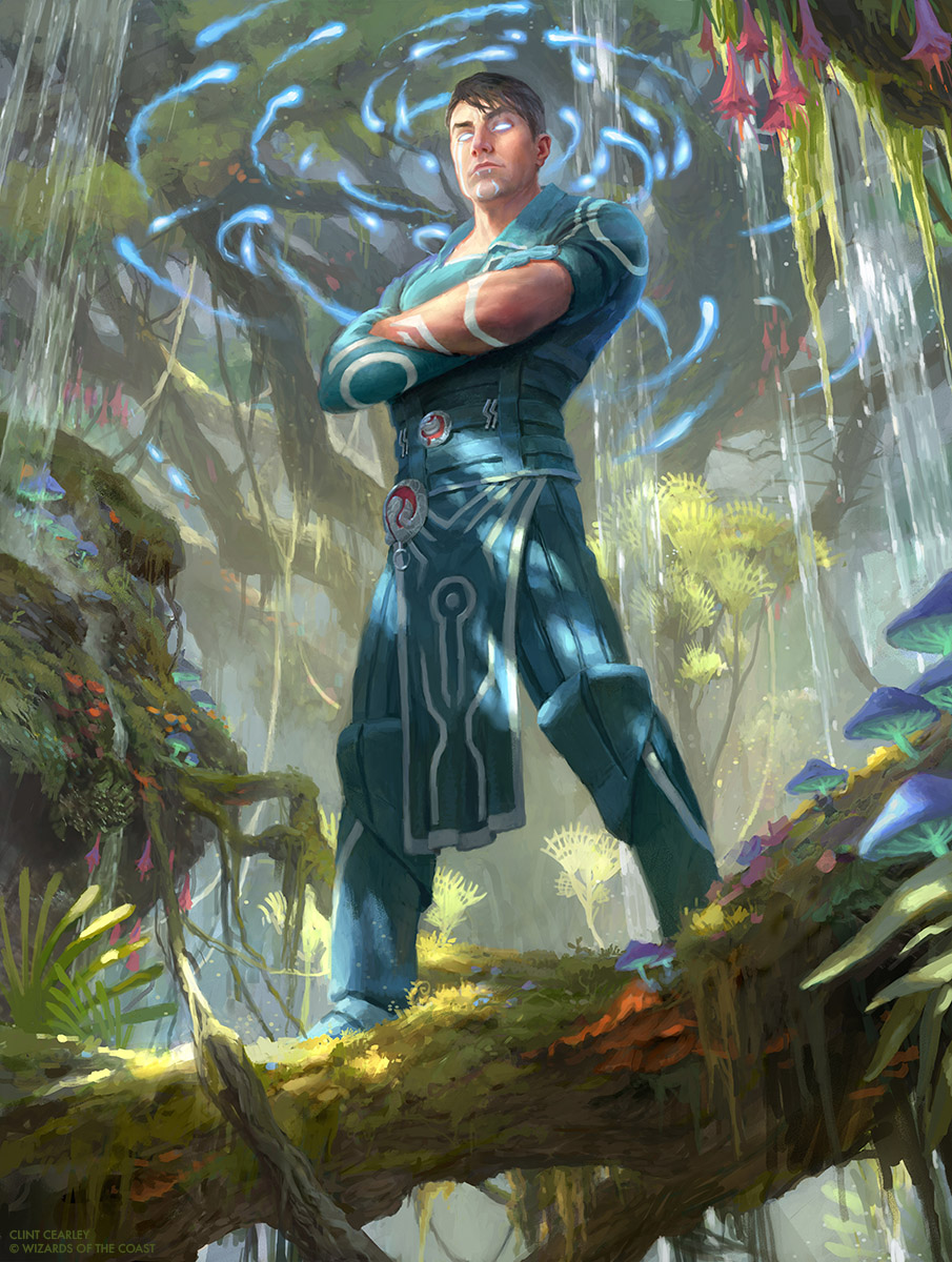 Jace Ingenious Mind Mage Mtg By Clintcearley On Deviantart