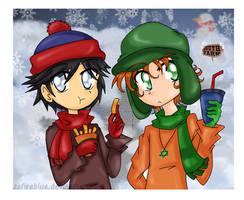 Snow Snack xD by zafireblue
