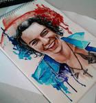 Harry in watercolor
