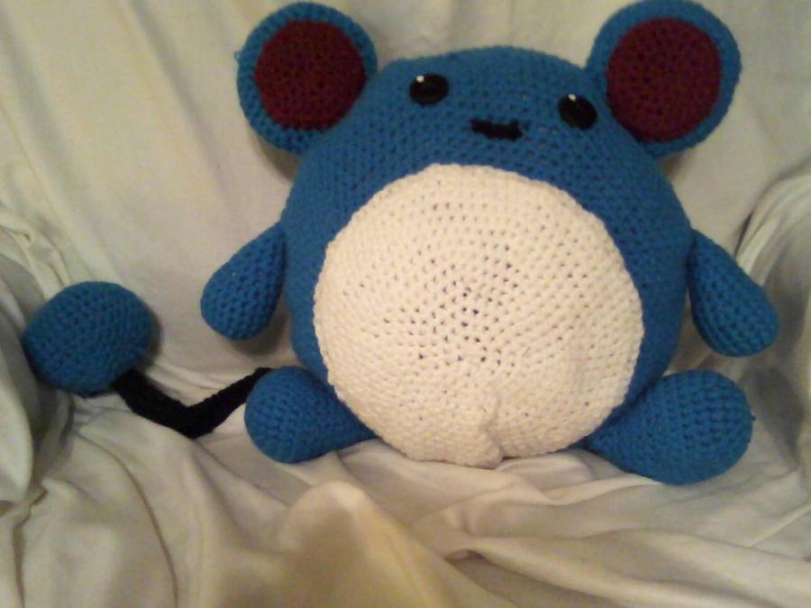 Amigurumi Sad Pokemon : Pokemon Marill Amigurumi Pillow by VictorianVafela on ...