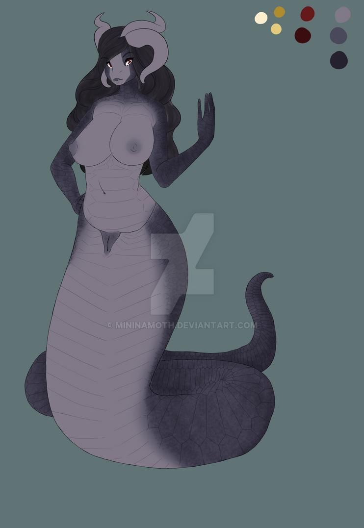 Naga Queen Godiva by VictorianVafela