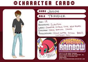 Pokemon Rainbow: Jason by pidgepudge