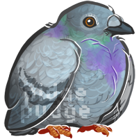 A pudgy pigeon by pidgepudge