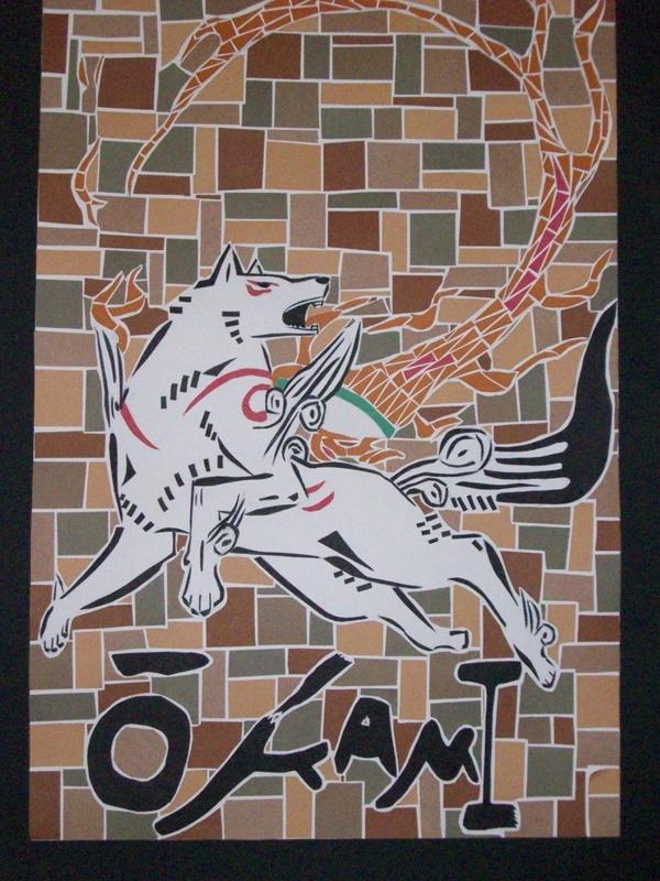 Okami Mosaic by DL2288
