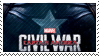 Captain America Civil War Stamp || F2U by Kisella
