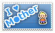 I love Mother Stamp by WiiplayWii