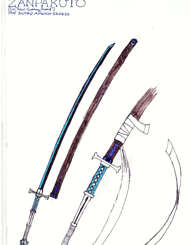 Zanpakutou-The Sword Among Swords. by Ternsho-Mugetsu on ...