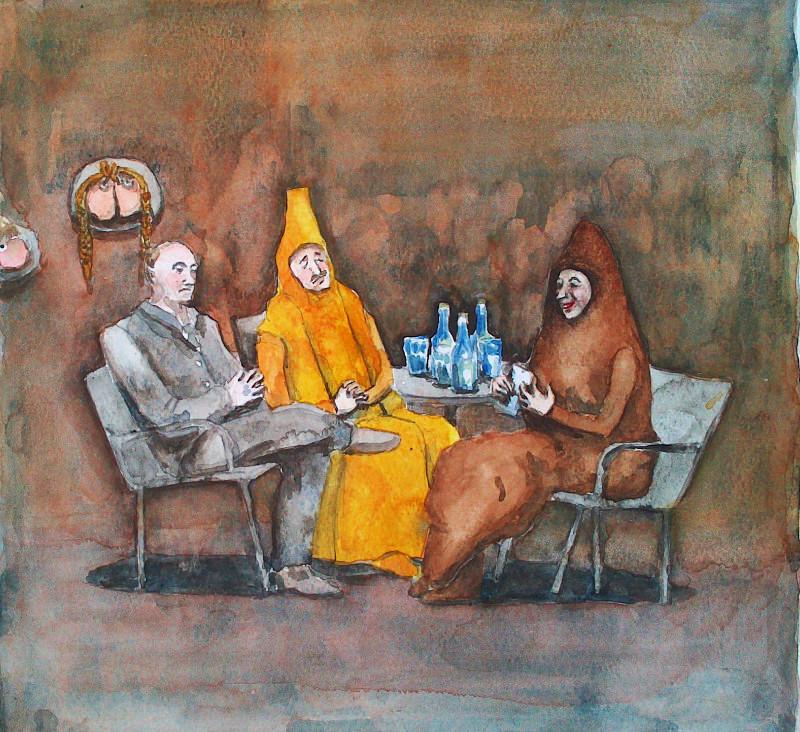 Biss, Kajs And Putin by Fradga