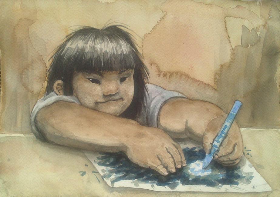 Little Girl by Fradga