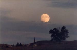 Cemetery Moon by Nightwalker50