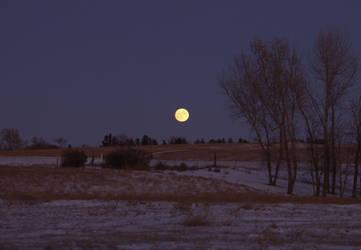 Deep Twilight Moon