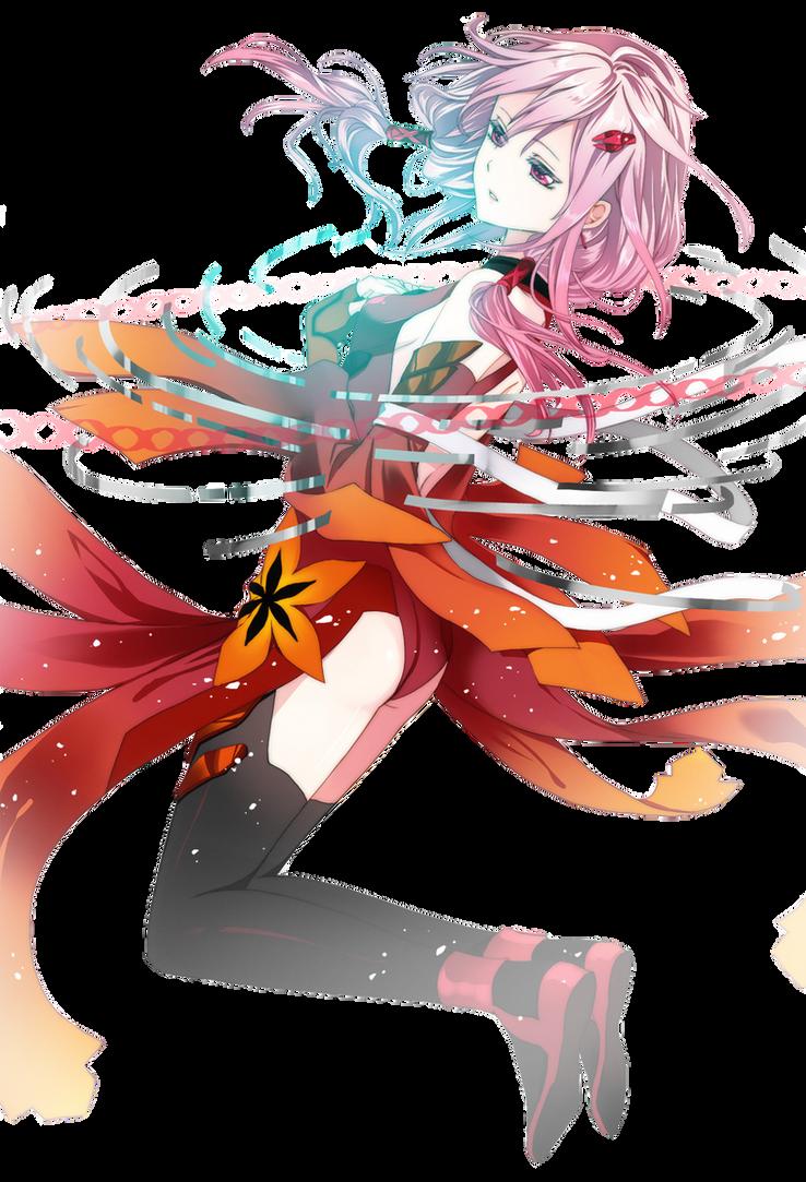 Inori Yuzuriha - Render by ArisaKumagae