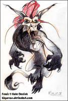 Angrrry Fenrir by kique-ass