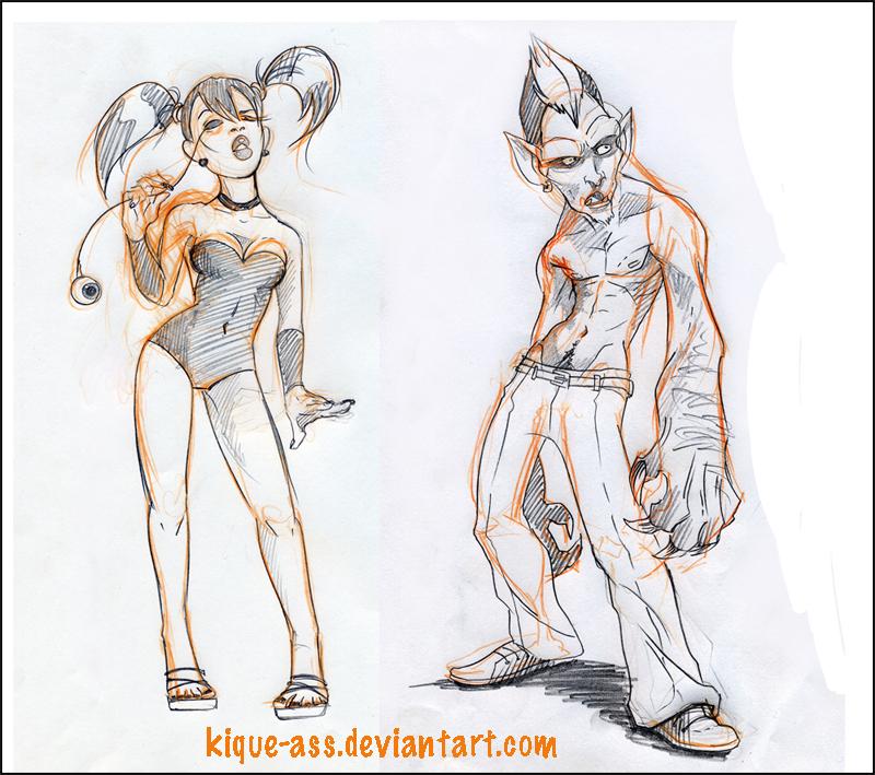 Iris + Fen WTF by kique-ass