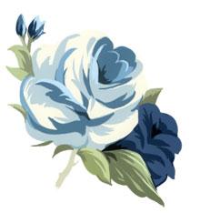 Αποτέλεσμα εικόνας για glitter animated blue flower