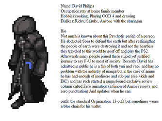 bonus Daves Bio by riderkid