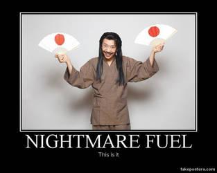 DM poster-nightmare fuel by riderkid