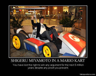 DM poster- Miyamoto Kart by riderkid