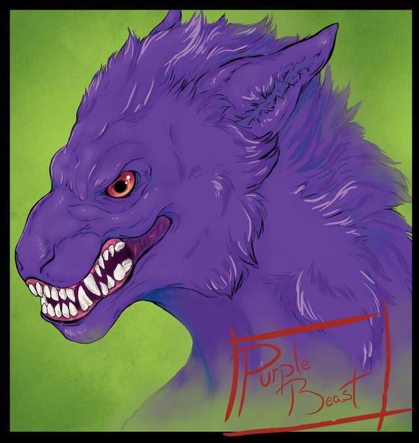 Purple Beast Badge by purple-beast