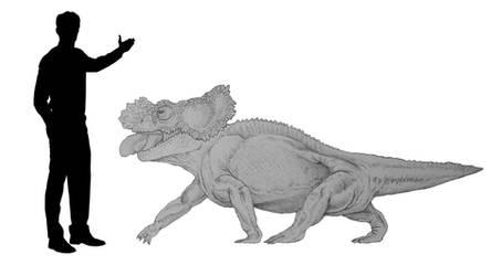 Chameleovenator gigas by dibrangosaurus