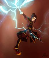 Avatar-Azula by Asmo-dA