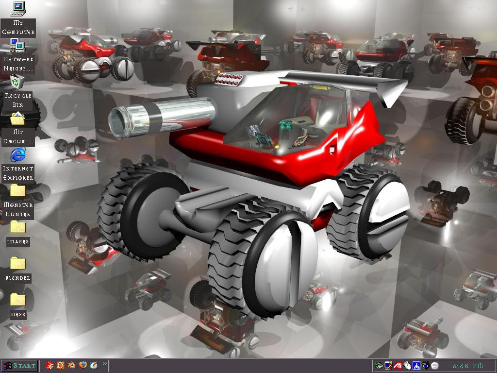 MB Cube Desktop by DFStormbringer