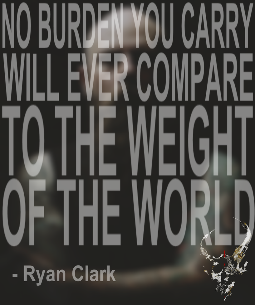 Ryan Clark Quote by Metalhead-777