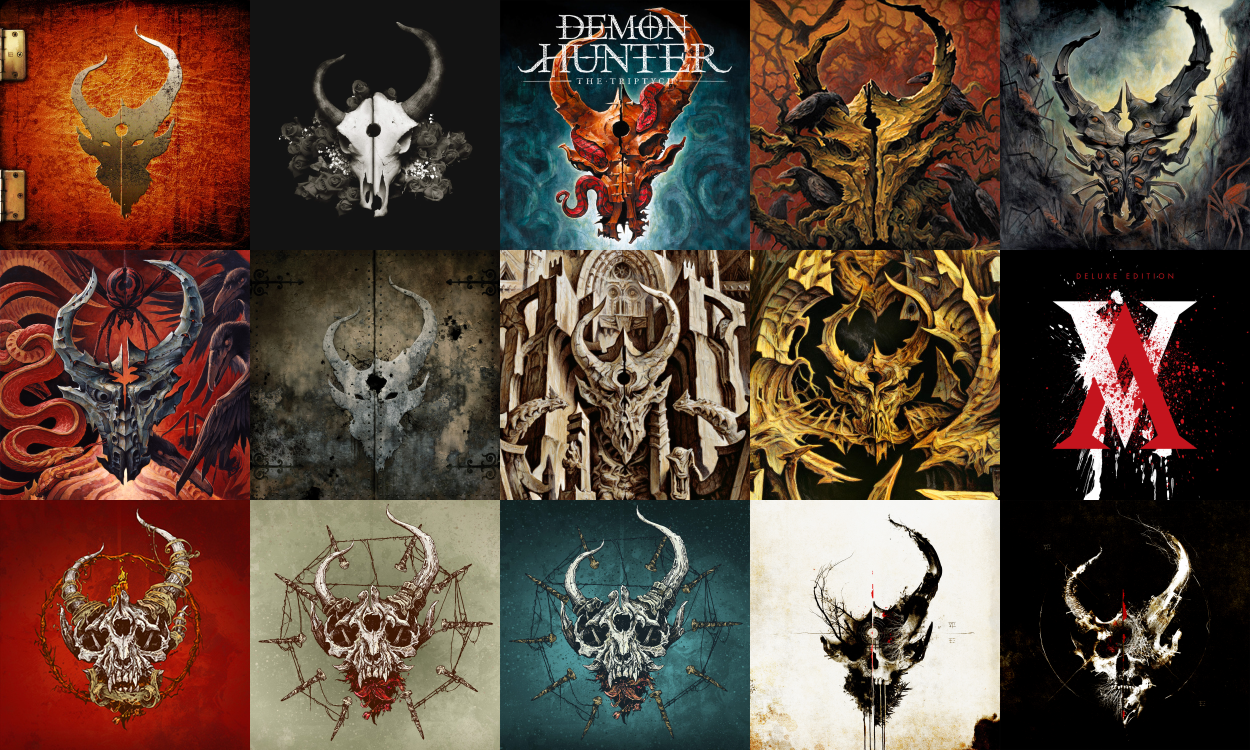 demon hunter the triptych special edition