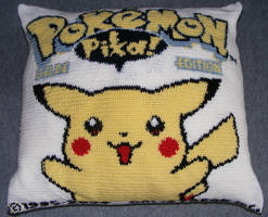 Pokemon Pillow by VoiceOfDragon
