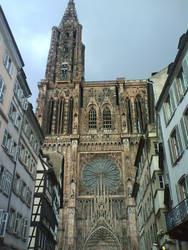 The Strasbourg Cathedral by pink-magic