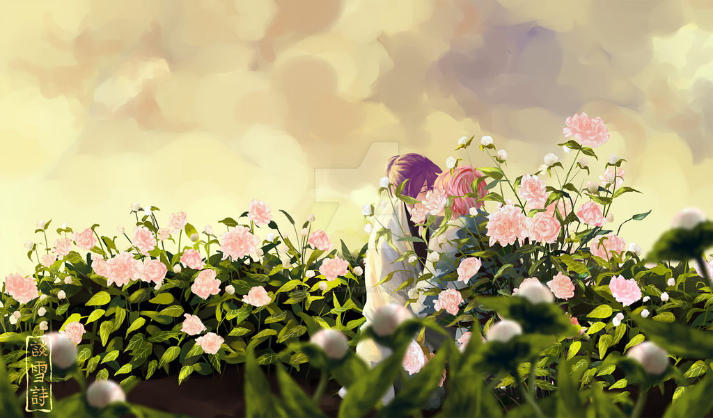 Peonies by celestialelements