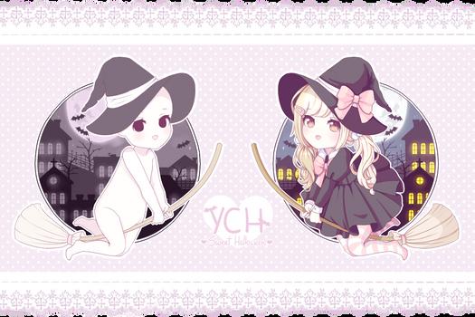 [CLOSED] ~ YCH: Sweet Halloween ~