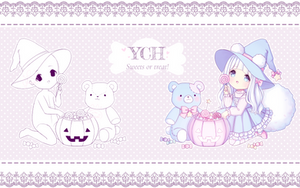 [CLOSED] ~ YCH: Sweets or Treat! ~ by intheyuukei