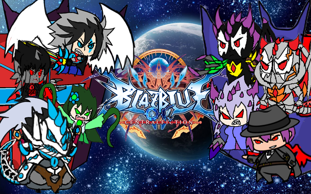 BlazBlue OC Central Fiction Chibi by brunolin