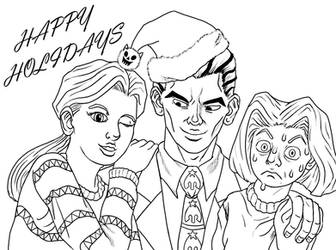HAPPY HOLIDAYS... by Psycho-Gaze