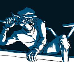 Sly Cooper speedpaint