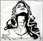 Fabric Lana Del Rey