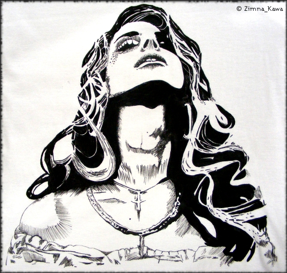 Fabric Lana Del Rey by ZimnaKawa