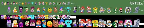 More Super Mario Maker Costumes by EnteiTheHedgehog